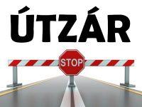 Felújítás miatt lezárva a Tarcsai úti vasúti átjáró