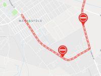 Egyirányúsították a Cinkotai utat a Naplás úttól a Rákosligeti határútig