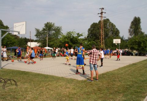 12. Streetball bajnokság Akadémiaújtelepen