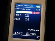 Lezárult a légszennyezettség – mérés Rákoshegyen