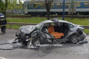Tragikus baleset a Ferihegyi úton